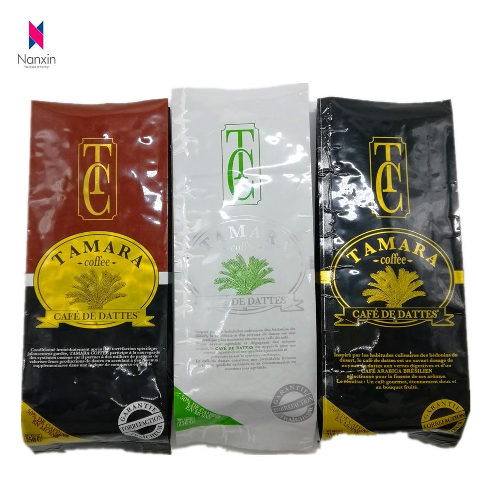 side gusset coffee bean bag with valve 250g /500g