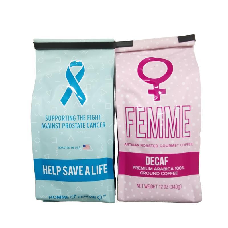 Customized Food Grade sealing strip Side gusset BagsPrinted packaging Coffee Bags
