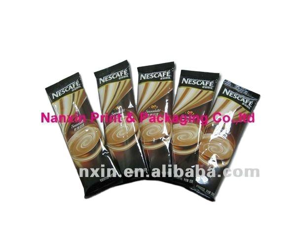 customized logo printing high barrier with valve coffee sachet