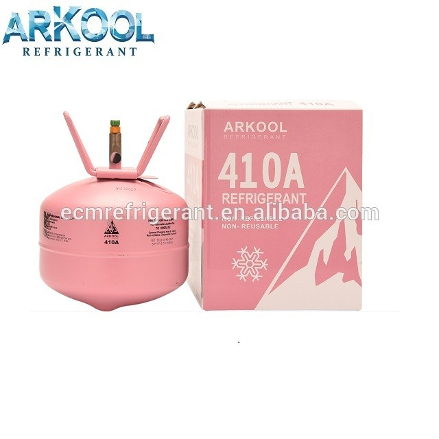 Auto Refrigerant Gas R410a for AC/Recyclable Disposable Cylinder 11.3 Kg