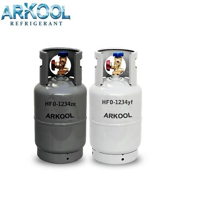 Hot Sale Refrigerant R1234yf high quality gas for car air conditioner CE DOT DOT