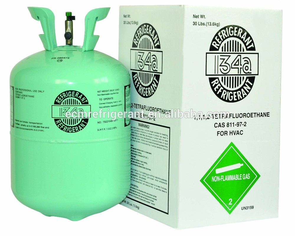 refrigerant gas R134a refrigerant gas used cars and for air conditioner