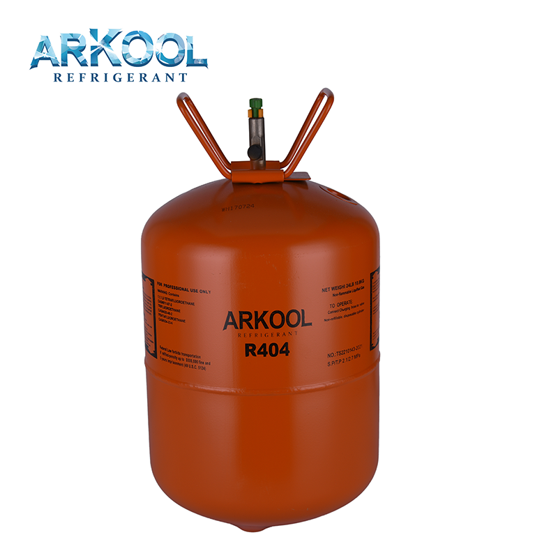 Mixed Refrigerants Gas R404a with Industrial Grade 10.9KG cylinder package
