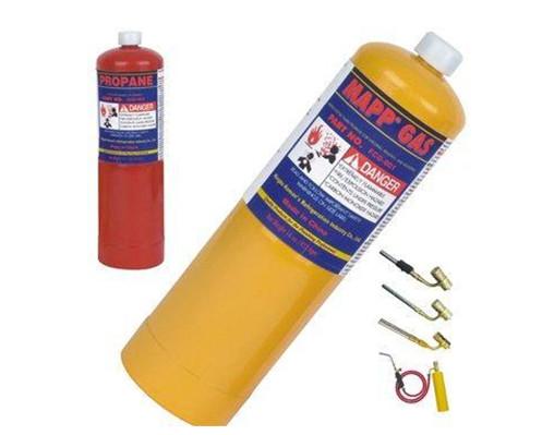 EN12205 14oz mapp pro small propane gas cylinder, butane gas can