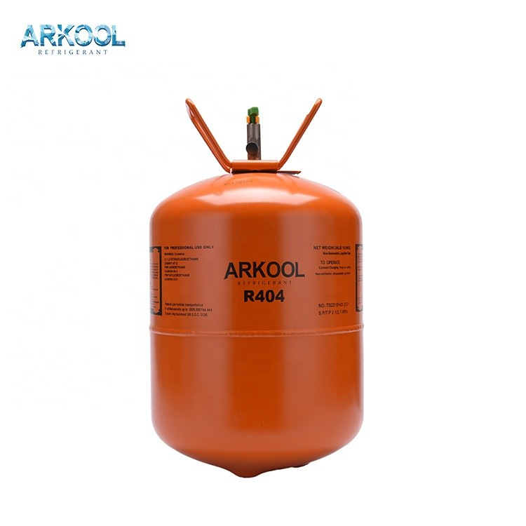 Factory supply air conditioning 99.9% purity 10.9kg 404a refrigerant gas