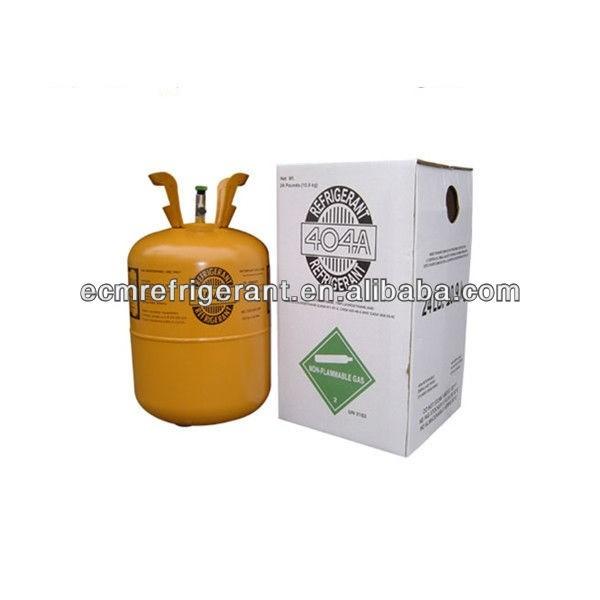 e-cool good quality 10.9kg refrigerant r404a gas