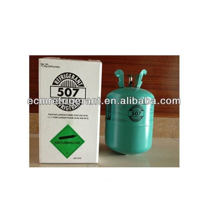 refrigerant gas r507a car ac gas