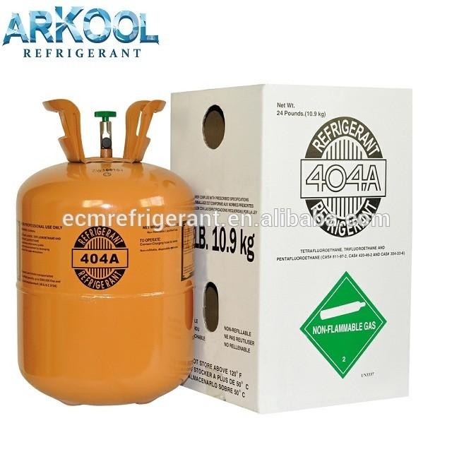 Refrigerant gas R404a price for air-conditioner R134A / R404a / R407c/ R417a