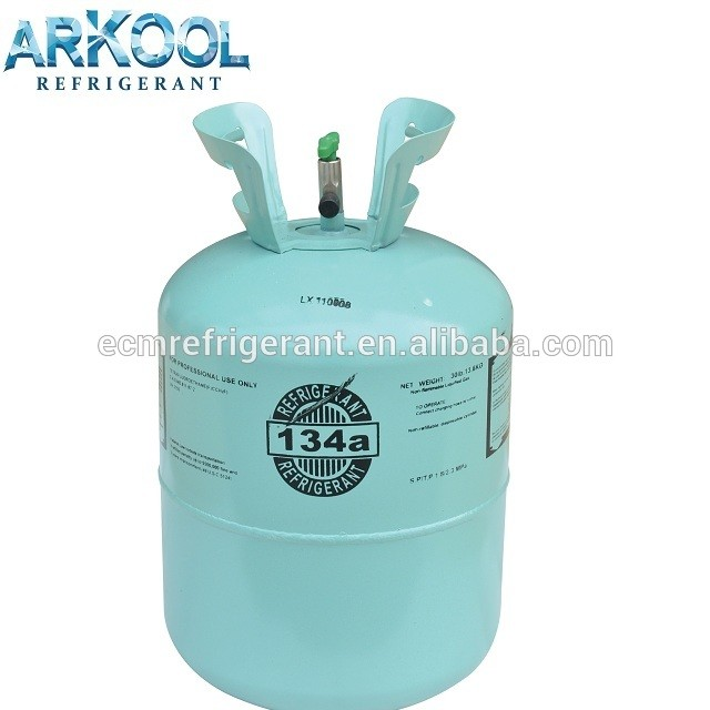 Refrigerant R134 gas
