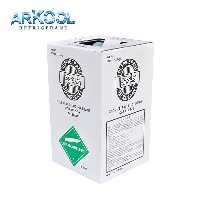 R134A auto air conditioners Refrigerant Gas