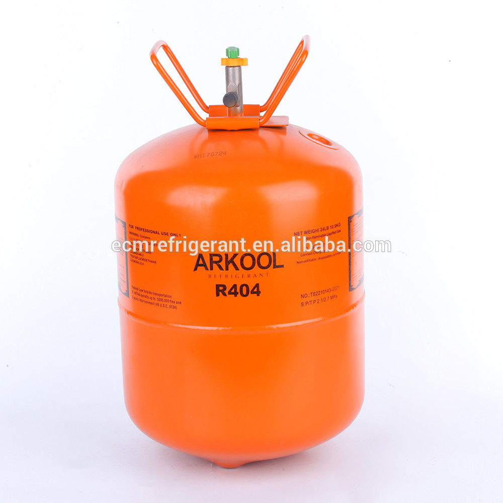 High pure R404a gas refrigerant for sale