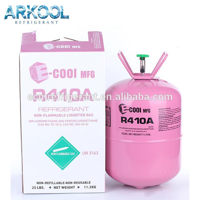 Refrigerant R410a gas user for air conditioner