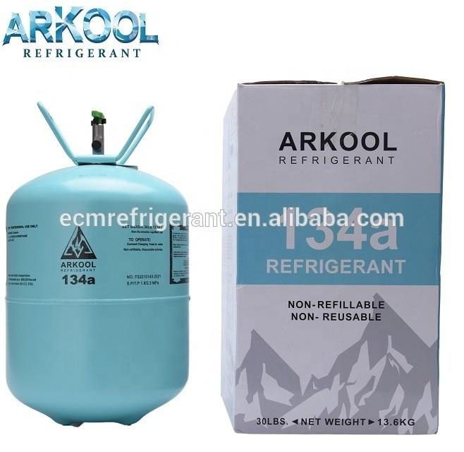 R-134a HFC 134a Environmental Refrigerant R134a green gas 13.6KG