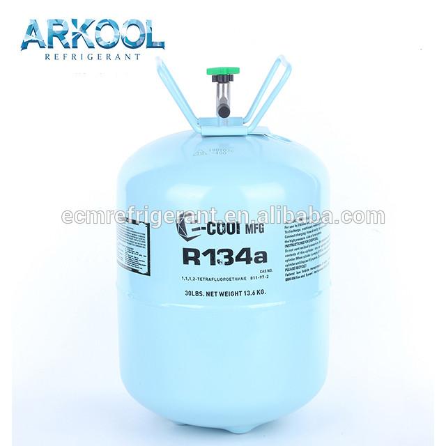 gas refrigerant price gas refrigerante 13.6kg / 30lb cylinder r134a r134 134a