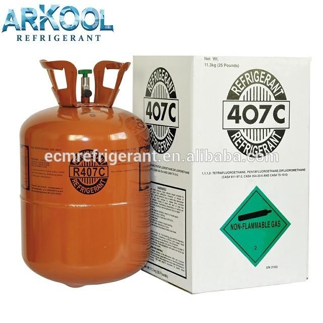 mixed r507 refrigerant gas good price( R134A / R407c/ R417a/R600a) CE ,EU