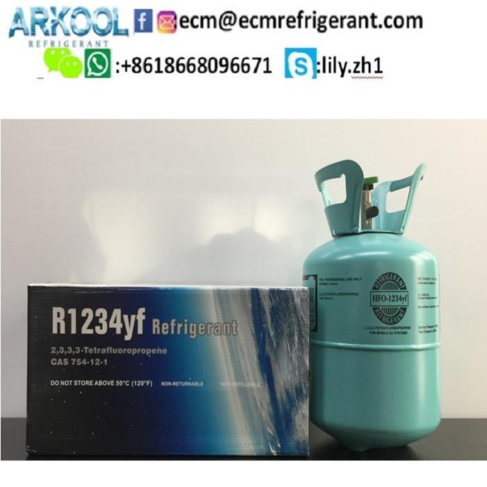 replace refrigerant r134a 99.9% Gas refrigerant gas R1234yf HFO-1234YF gas