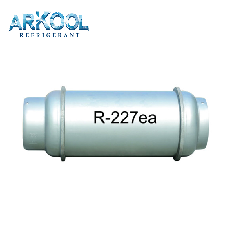 hfc r227ea refrigerant gas hfc-227ea fire extinguishing high purity price low