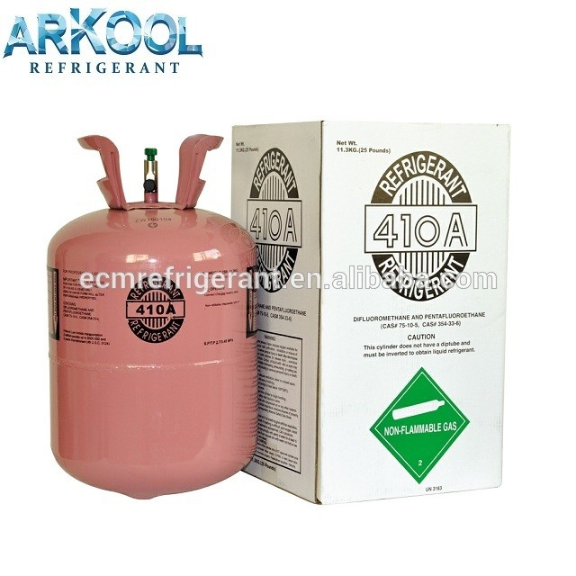 high quality OEM refrigerant gas r410 general r410a for air conditioner gas