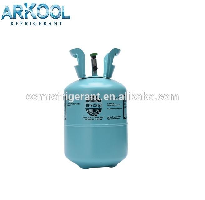 CF3CF= CH2 2,3,3,3-tetrafluoropropene Opteo HFO-1234yf refrigerant gas r1234yf