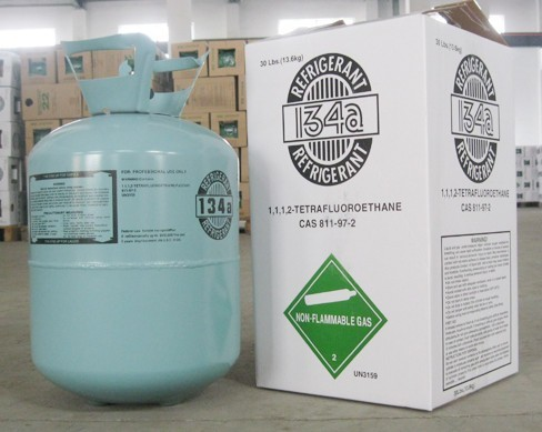 Refrigerant r134a 13.6kg r134a refrigerant gas cylinder /ISO/tonner EU