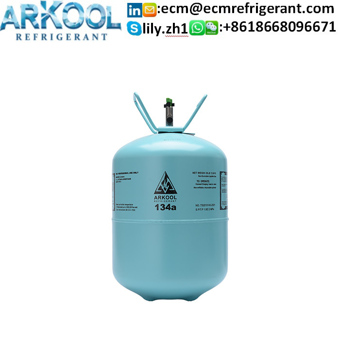 Factory supply air condition 99.9% purity 13.6 kg 134a refrigerant gas