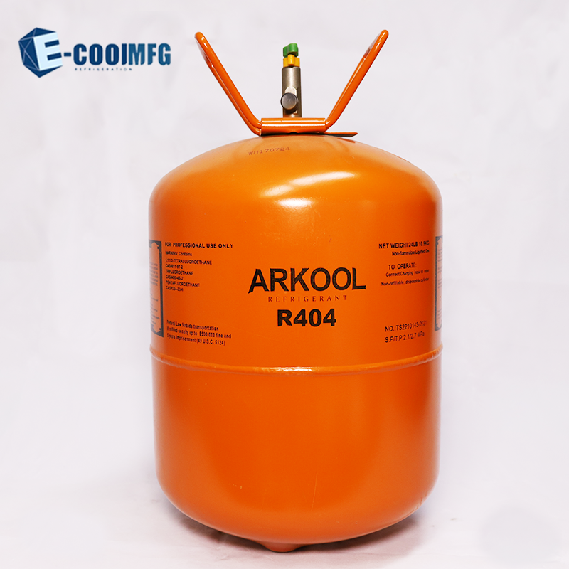 r404a gas refrigerant gas r404a price low for sale CE refillable cylinder