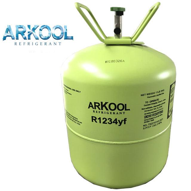 Newest type gas r1234yf refrigerant gas replace r134a