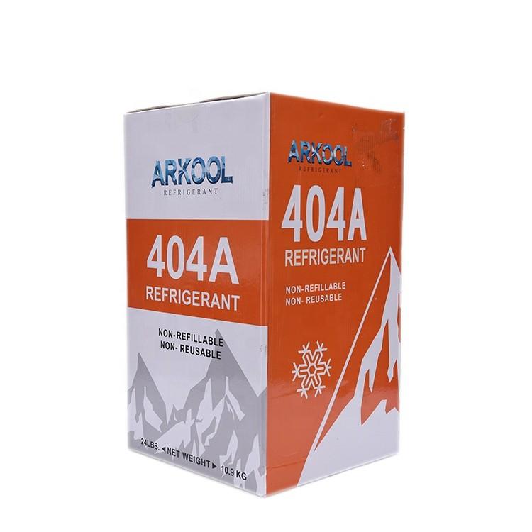 Refrigeration spare parts R404A refrigerant gas
