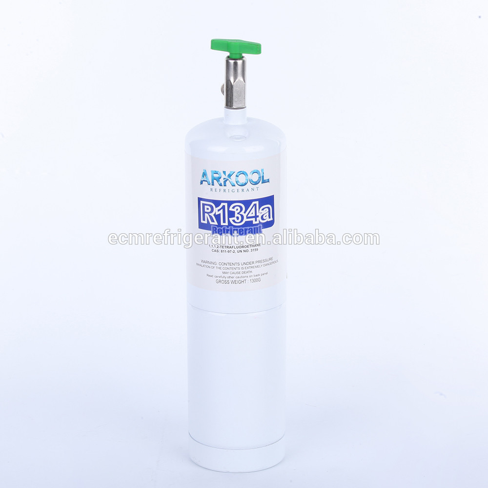 can packing refrigerantr134a refrigerant gas 340g for sale