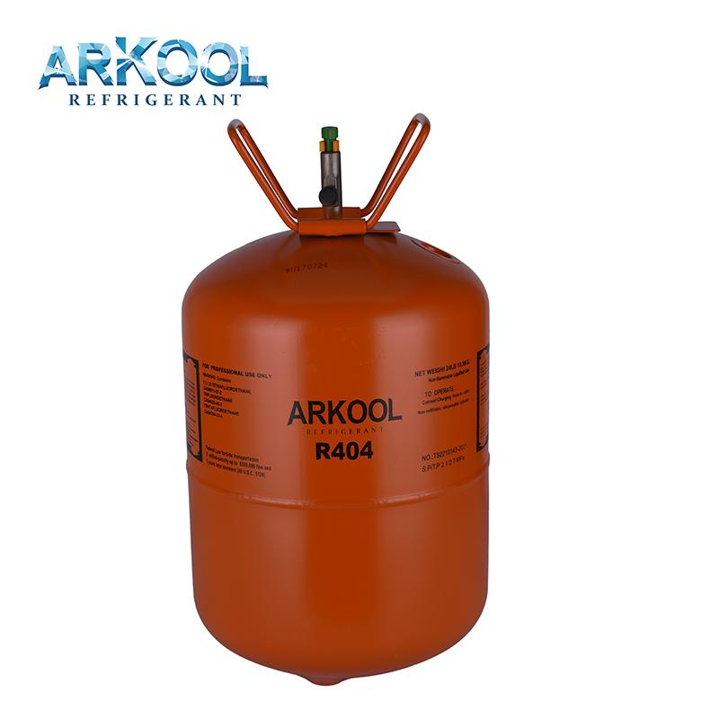 R404A R407C R410A R507 HFC 134a refrigerant gas good price ce/dot eu