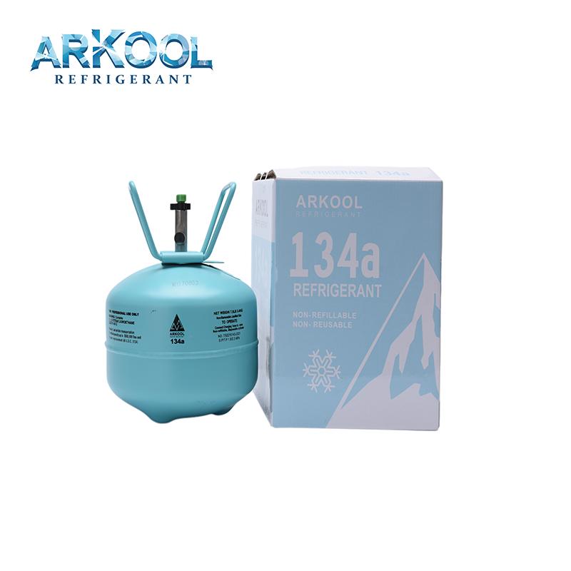 R134 13.6kgs/12kgs refrigerant gasrefrigerant R134a gas price well