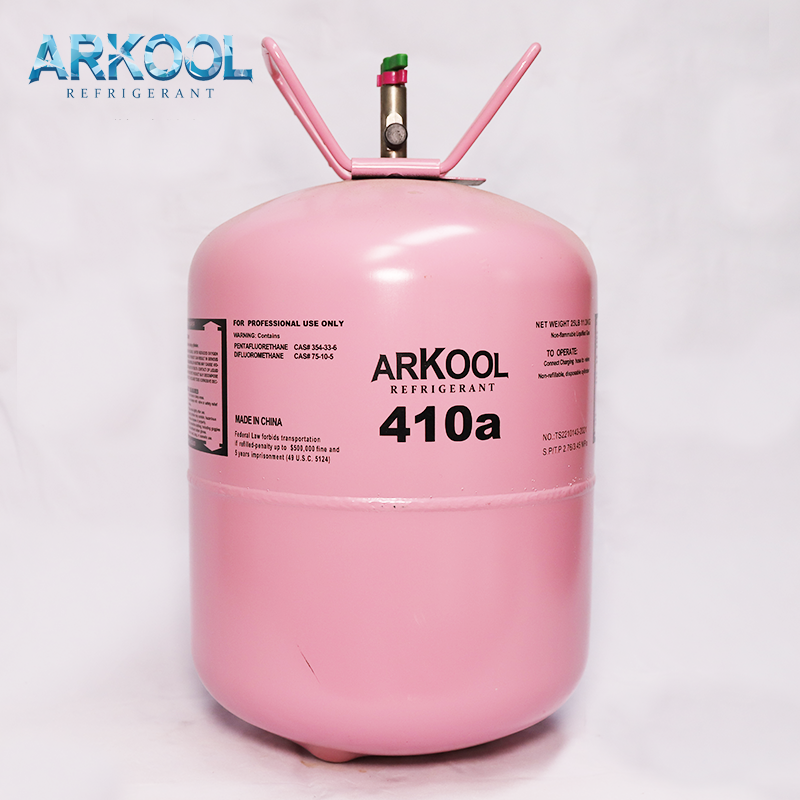 Refrigerant r410 gas cylinder for sale refillable refrigerant gas cylinders