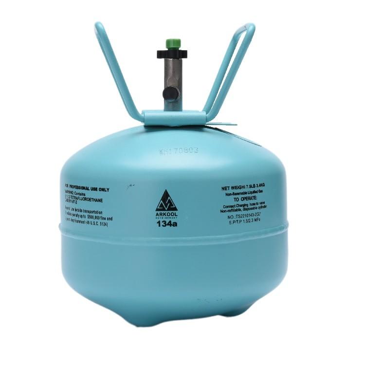 Factory sale 99.99% Purity 13.6kg Refrigerant GasR134A