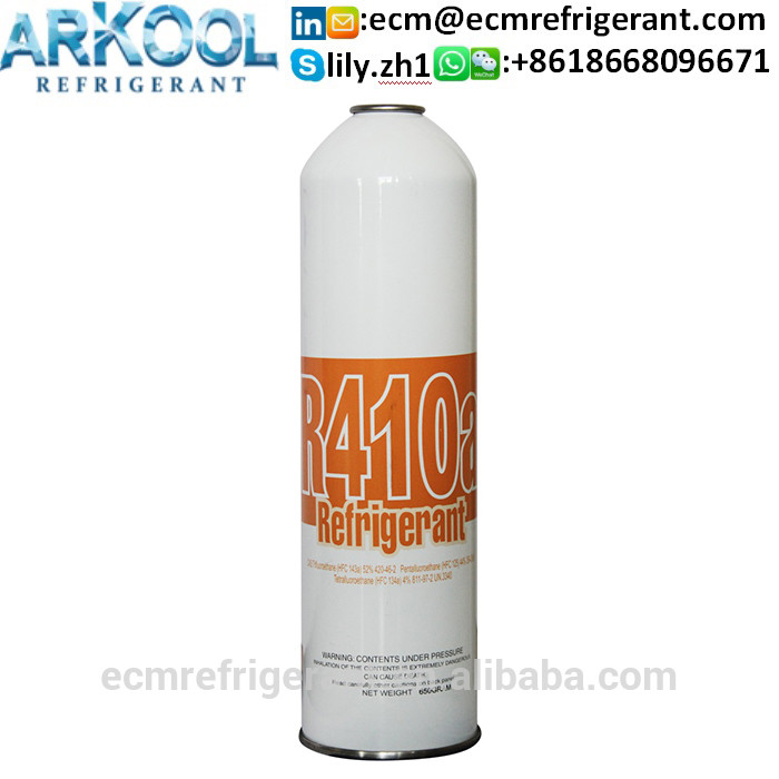 air-conditioner gas R410a 11.3KG per bottle refrigerant gas R410A