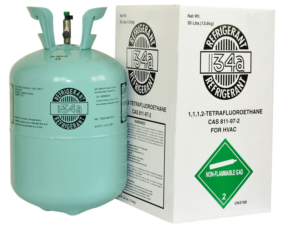 Efficiency Refrigerant System Component R134 a Green Gas