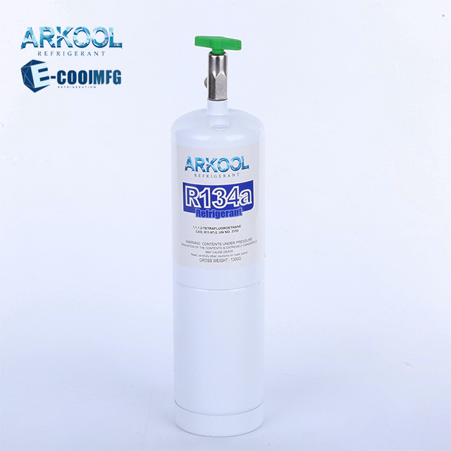 refrigerant r134a gas 340g 280g10oz 12oz cylinder with good quality venezuela