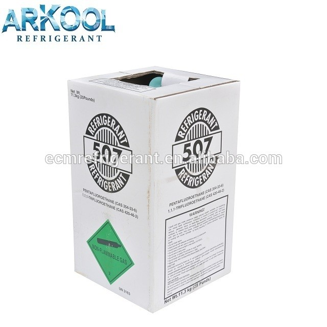 Arkool Good price for 11.3KG 507 refrigerant gas r507