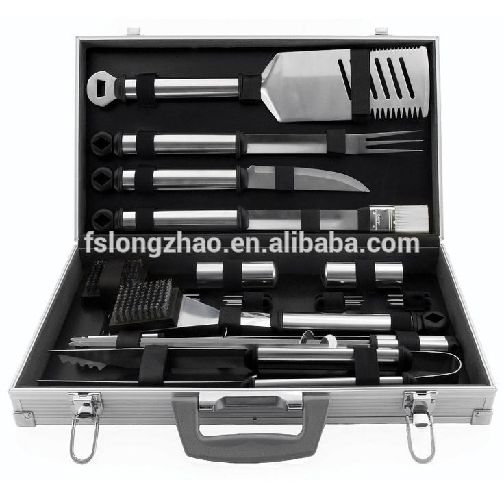 Good Quality Stainless Steel BBQ Tool Sets Barbecue Accessories