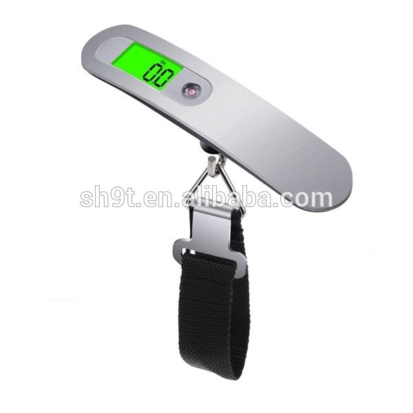 Travel Portable Hand Digital Luggage Scales with Sturdy Strap and LCD Display