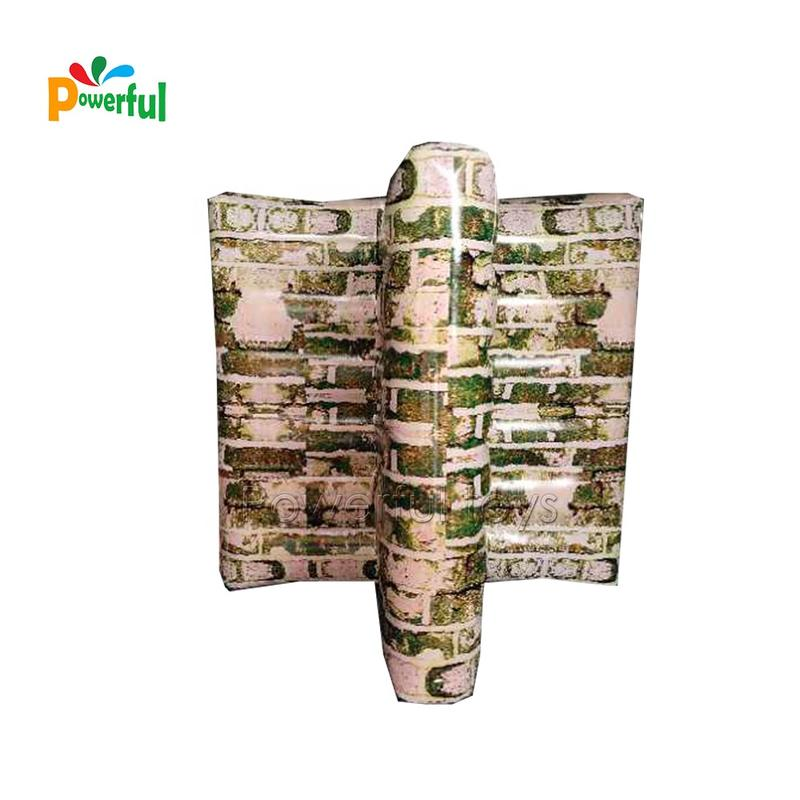 Outdoor airsoft bunker inflatable millennium paintball field