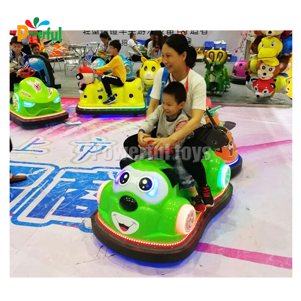 Best Selling Electric Motorbike Bumper Car Game Inflatable Amusement Bumper Car Driving In Playground