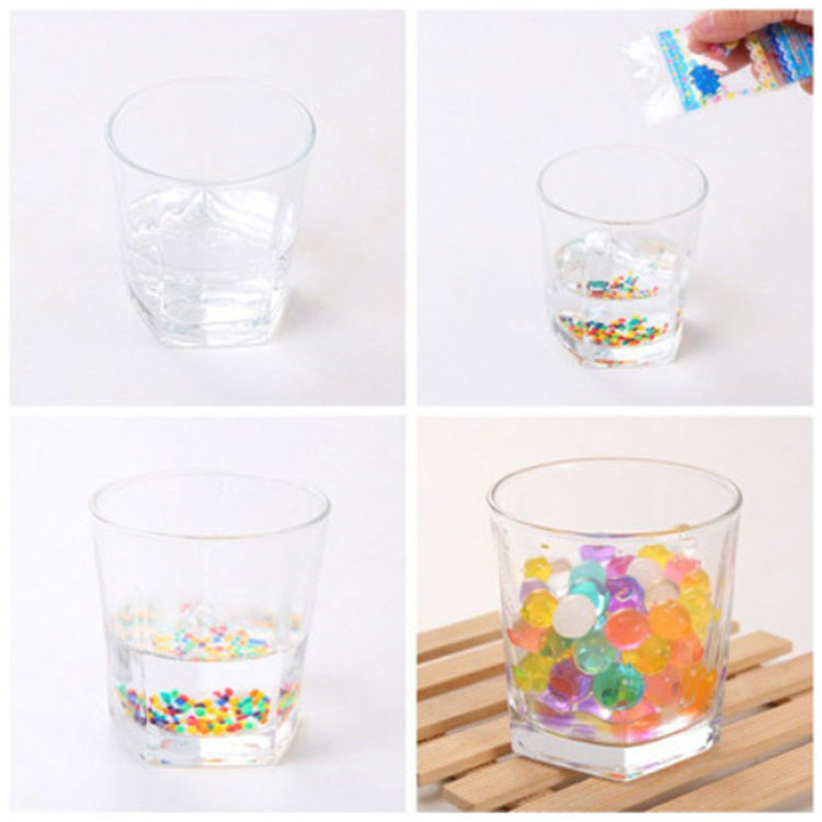 Quality-Assured Professional Made Hydro Gel Magic Water Beads
