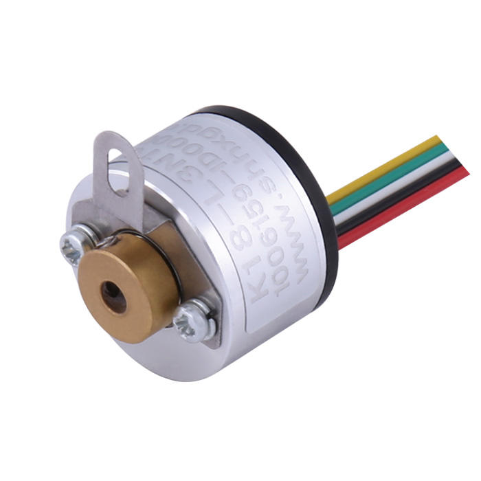 Miniature encoder type Hollow shaft encoder 2.5mm 500 pulse MEH-17-500PC square wave encoder equivalent K18