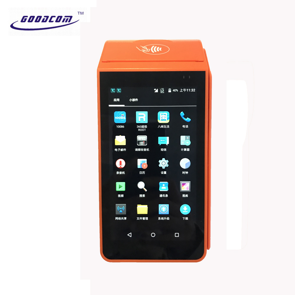 10% OFF Mobile Thermal Touch Screen Device Android POS Printer System with Printer