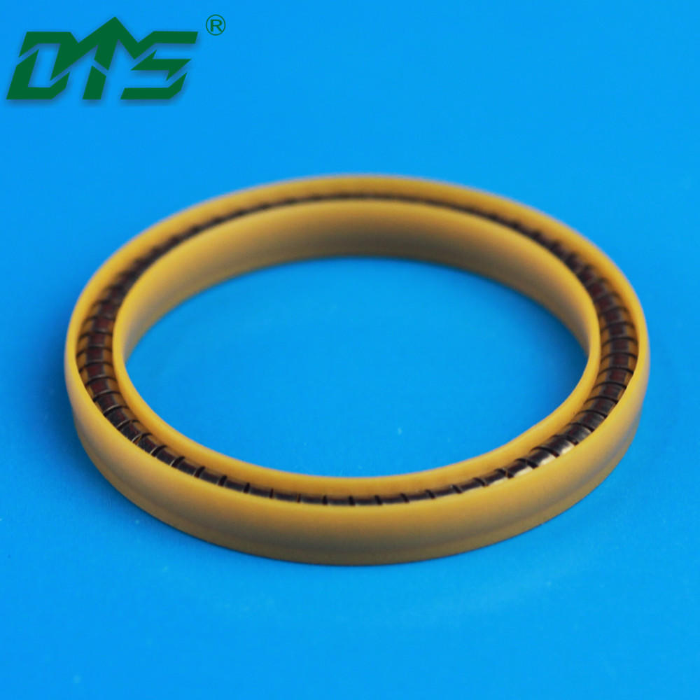 High Performance Polymers UPE Seals with Stainless Steel Springs Used on Oil and Gas Industry