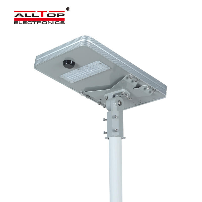ALLTOP High quality outdoor ip65 smd 50w 100w 150w 200w integrated led solar street lamp