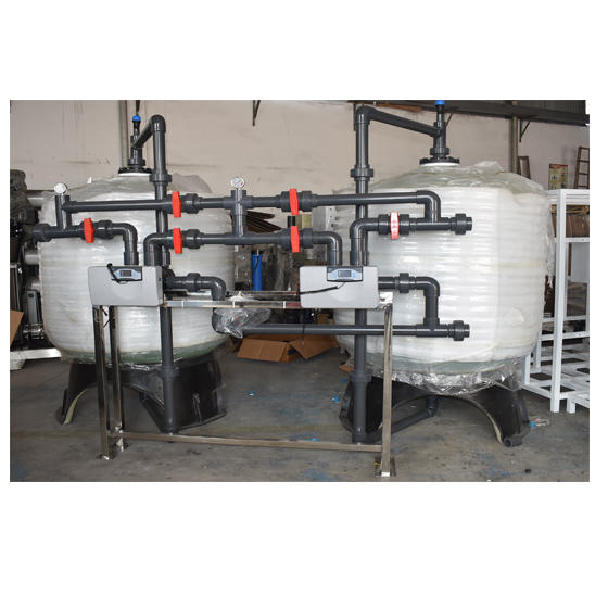 Manual control 50m3/hr post block activated carbon filter