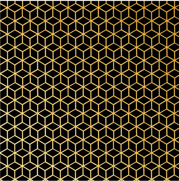 gift Wrapping Paper in Geometric pattern European popular style