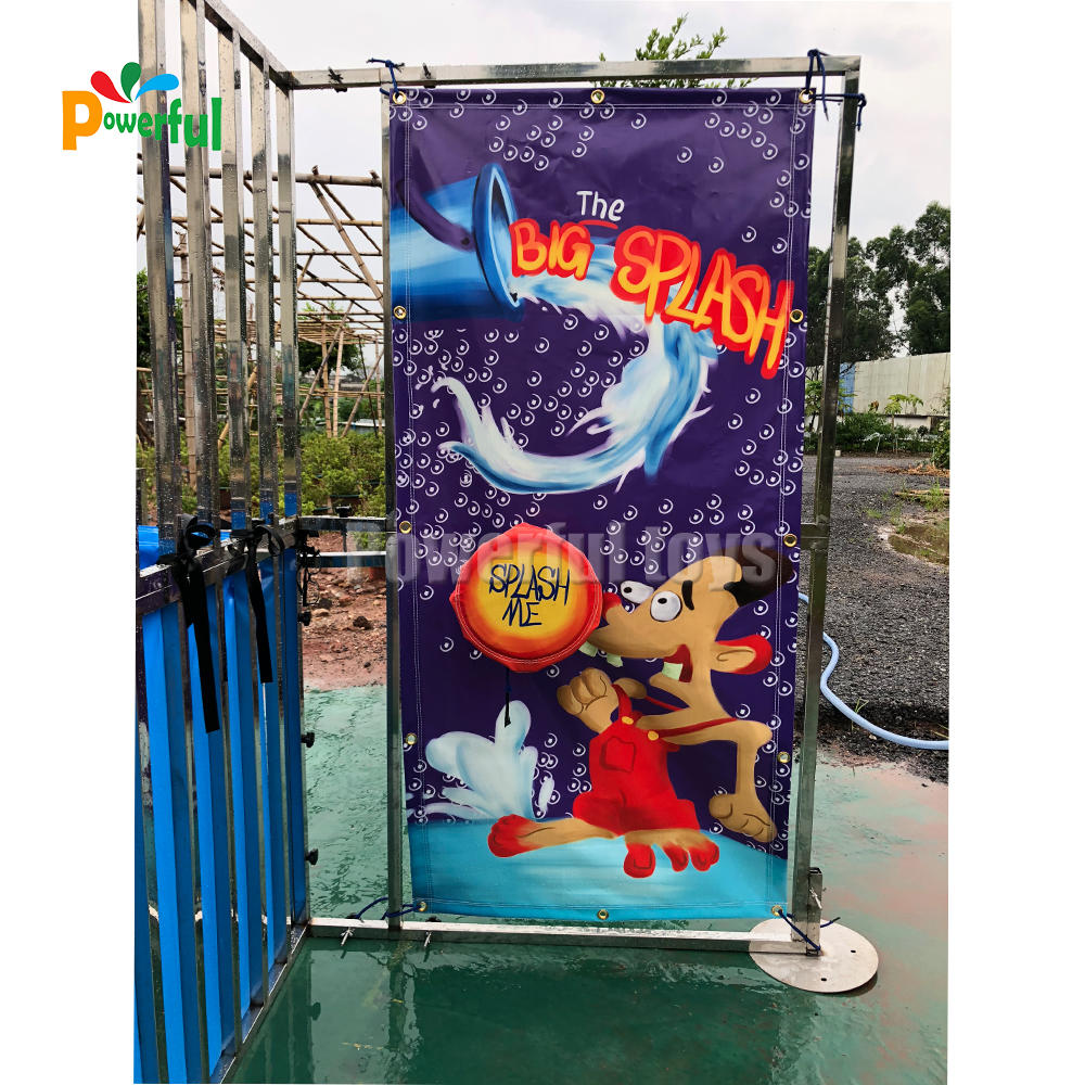 Hot sale water games Dunk Tank challenge for Amusement Park