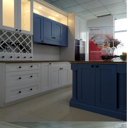 2020 New Style Modular Fitted Kitchen Units Set Cabinet Modern